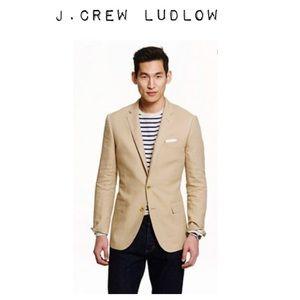 JCrew Ludlow Irish Linen Blazer Jacket 38R